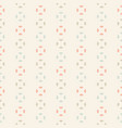vintage seamless pattern abstract retro style vector image