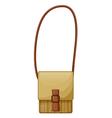 A brown slingbag vector image vector image