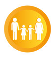 couple pictogram cartoon vector image vector image