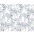 fantasy landscape pattern vector image vector image
