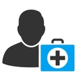 First Aid Man Icon vector image vector image
