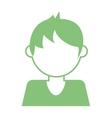Kid avatar boy icon vector image