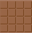 seamless background milk chocolate tile vector image