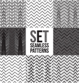 Seamless pattern zigzag vector image