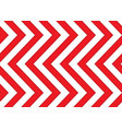 Red and white arrows seamless pattern vector image