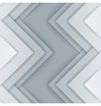 Abstract gray and white triangle shapes background vector image vector image