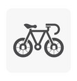 bike part icon vector image vector image
