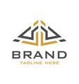 building logo design vector image