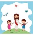Catolic religion design vector image