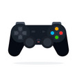 joystick for video games flat isolated vector image vector image