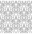 lace vintage black and white seamless vector image