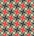 Old style tiles seamless background vector image vector image