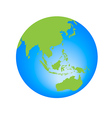 World Globe editable vector image vector image
