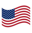 american flag official symbol state vector image vector image