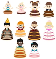 Birthday Party Kids vector image