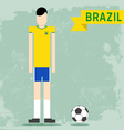 Brazil Uniform vector image