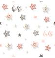Decorative trendy seamless pattern background