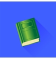 Green Book vector image vector image