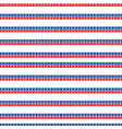 Independence day of america seamless pattern july