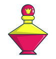 perfume of the princess icon cartoon style vector image vector image