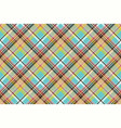 seamless fabric texture plaid blue madras vector image vector image