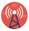 signal tower vector image