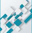 abstract geometric shape from gray and blue vector image vector image
