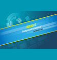 abstract technology background for design vector image