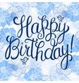 Happy birthday greeteng card vector image vector image