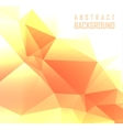 polygonal design Abstract vector image vector image
