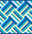 summer beach stripe seamless pattern vector image vector image