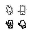 call me back icons set vector image vector image