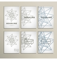 geometric shapes on a white background vector image