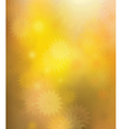 golden stars background vector image vector image