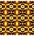 pixel modern geometric seamless pattern ornament vector image vector image