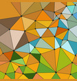 polygonal background in vector image vector image