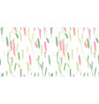 trendy abstract brush stroke painting pattern vector image vector image