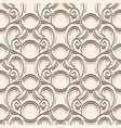 vintage lace pattern vector image vector image