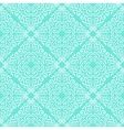 White curly graphic pattern on blue background