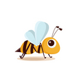 bee isolated vector image