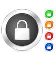 computer icon padlock vector image vector image