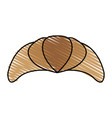 Croissant or scone pastry icon image