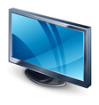 display tv vector image