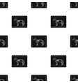 dog x-ray icon in black style isolated on white vector image