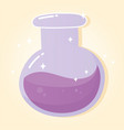 education chemistry test tube school elementary vector image vector image