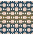 ethnic boho geometric seamless pattern texture vector image