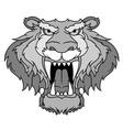 gray beast vector image