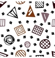 Pattern with geometric shapes eps 10 vector image vector image