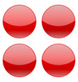 red round icons vector image