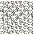 seamless geometric pattern in doodle style vector image vector image